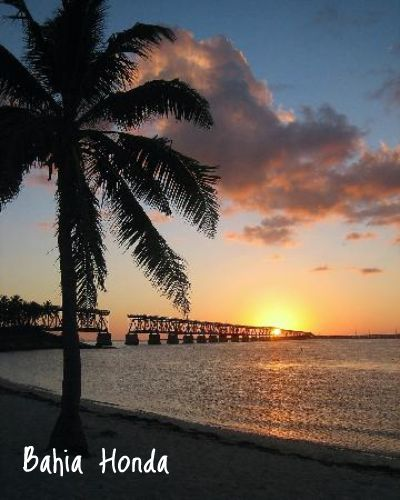 Key Bahia Honda at sunset