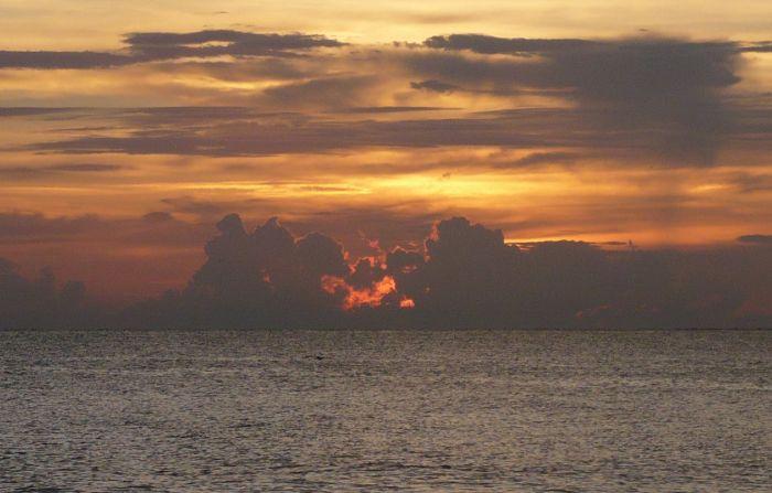 Sunset off Lido Key