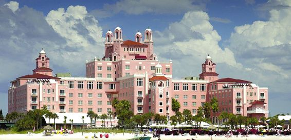 Don Cesar Hotel on St Pete Beach