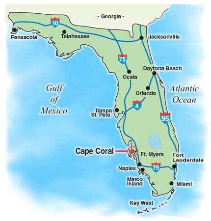 map to orlando florida Florida Travel map to orlando florida