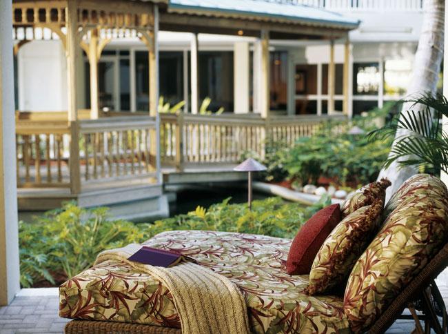 Lido beach resort patio