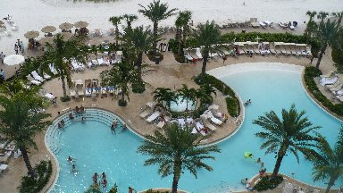 Sandpearl resort on Clearwater Beach