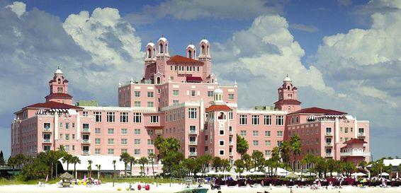 Don Cesar Hotel on St Pete Beach